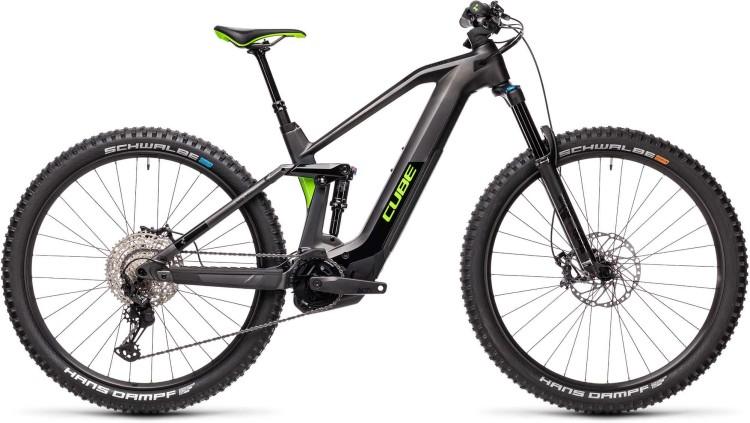 Cube Stereo Hybrid 140 HPC SL 625 iridium n green 2021 - E-Bike Fully Mountainbike