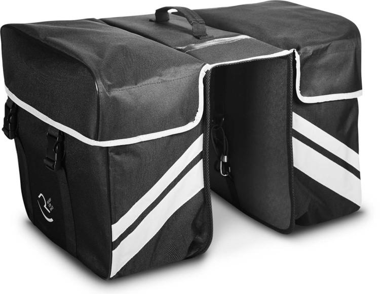 RFR Gepäckträgertaschen Double black