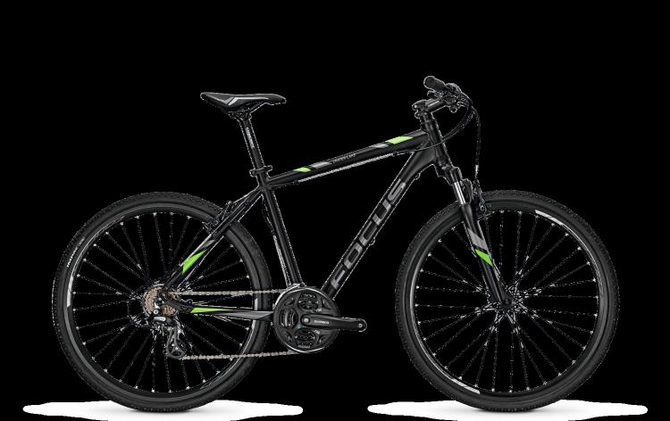 Focus Crater Lake Elite Rigid black 2017 - Herren Crossrad