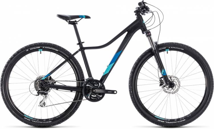 Cube Access WS Exc black n blue 2018 - Damen Hardtail Mountainbike