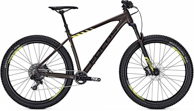 Focus Bold Factory 27 earthbrown/matt 2017 - Hardtail Mountainbike