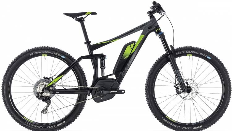 Cube Sondermodell Stereo Hybrid 140 Edition 27.5 black n green 2018 - E-Bike Fully Mountainbike