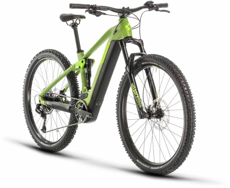 Cube Stereo Hybrid 120 Pro 500 29 green n green 2020 - E-Bike Fully Mountainbike