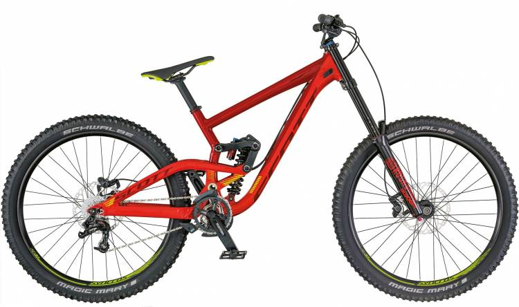 Scott Gambler 730 2018 - Fully Mountainbike