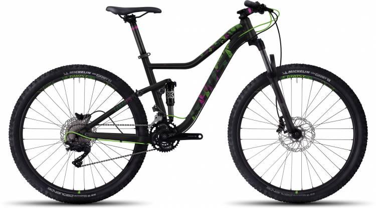 """Ghost Lanao FS 3 27.5"""" 2017 - Damen Fully Mountainbike"""