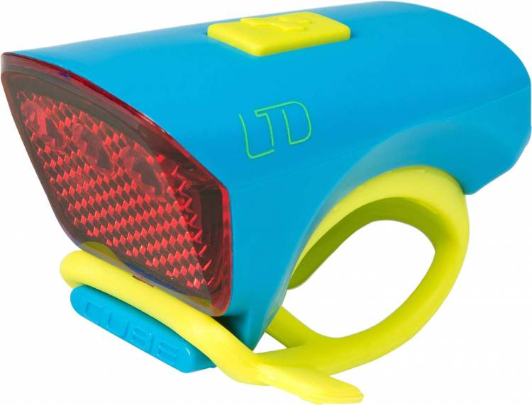 """Cube Outdoor Licht LTD """"Red LED"""" blue n green"""