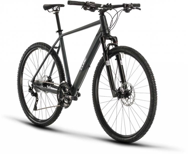 Cube Cross EXC iridium n white 2020 - Crossrad Herren