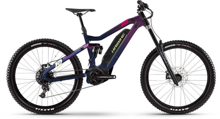 Haibike Dwnhll 500Wh indigo/blue 2021 - E-Bike Fully Mountainbike