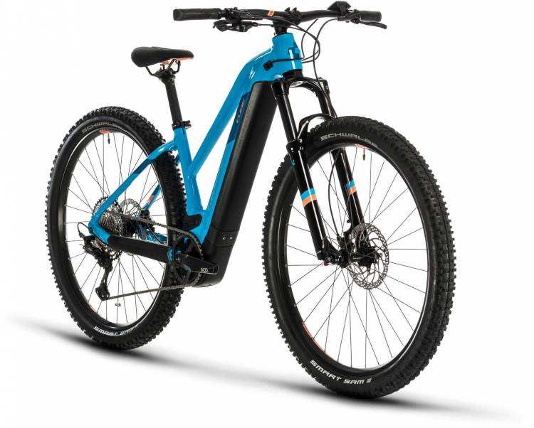 Cube Access Hybrid EXC 500 29 reefblue n apricot 2020 - E-Bike Hardtail Mountainbike Damen