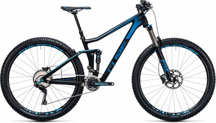 Cube Stereo 140 C:62 Race 29 carbon n blue 2017