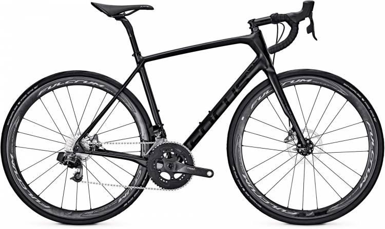 Focus Paralane Etap carbon/black 2017 - Herren Carbon Rennrad