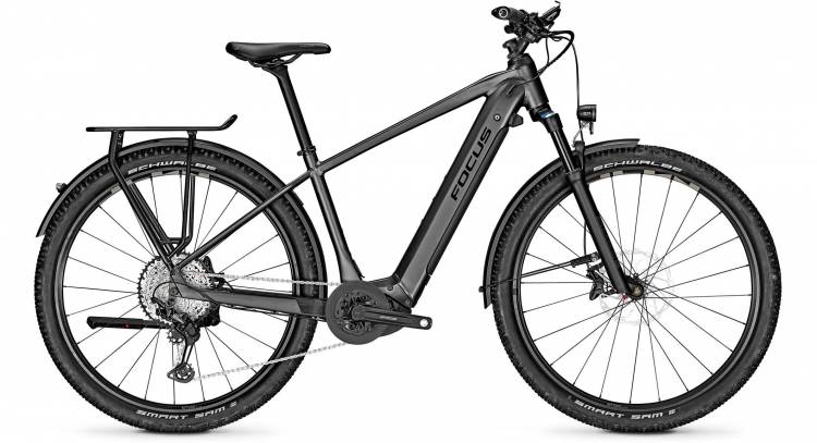 Focus Aventura2 6.9 Diamond Black 2020 - E-Bike Trekkingrad Herren