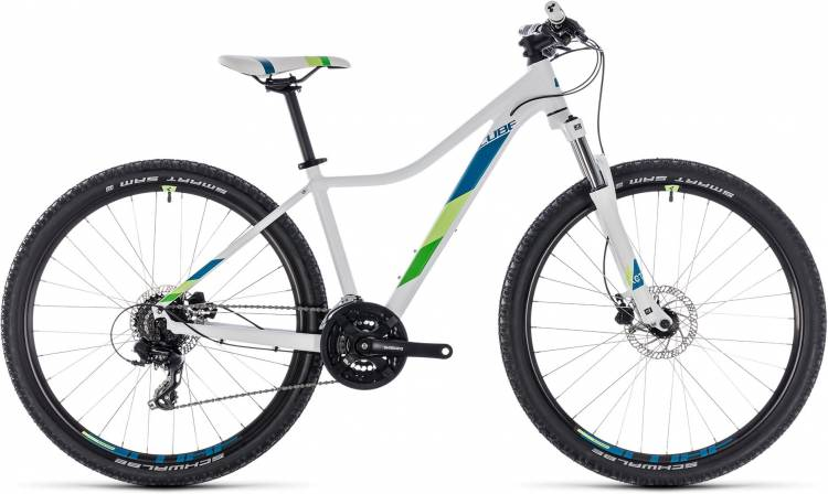 Cube Access WS EAZ white n green 2018 - Damen Hardtail Mountainbike