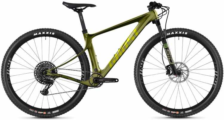 Ghost Lector SF LC Universal Olive 2021 - Hardtail Mountainbike
