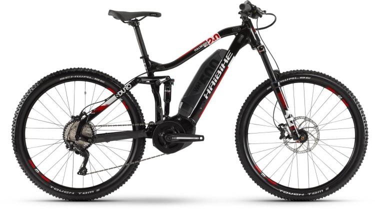 Haibike SDURO FullSeven LT 2.0 500Wh Schwarz/Weiß/Rot 2020