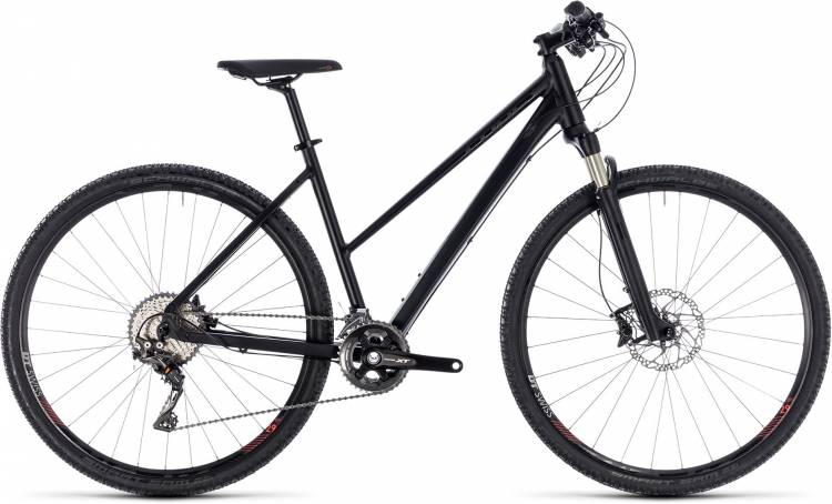 Cube Cross SL black edition 2018 - Damen Trapez Crossrad