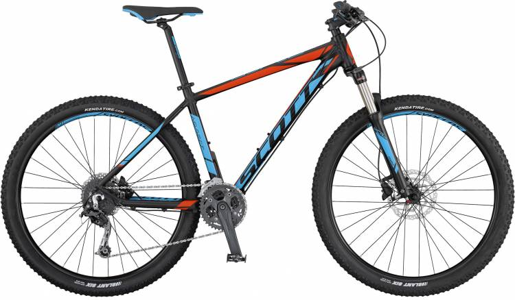 Scott Aspect 730 black/blue/red 2017 - Hardtail Mountainbike