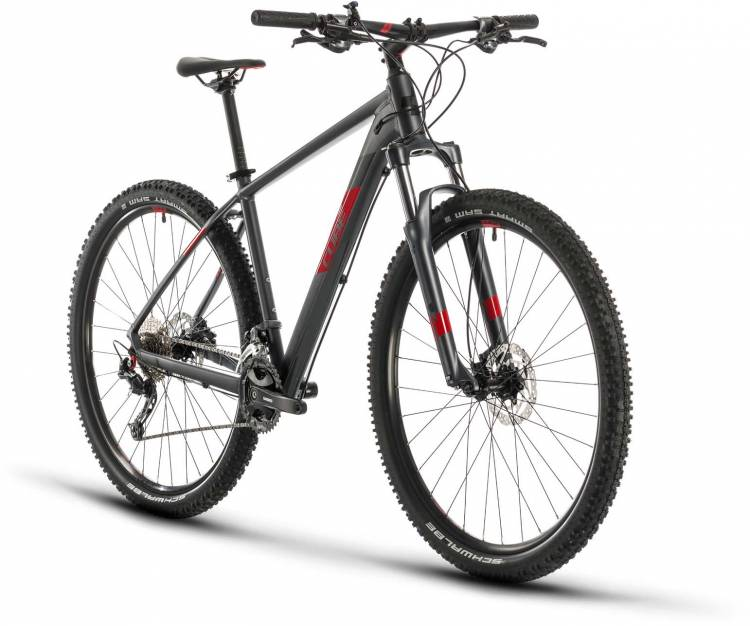 Cube Aim SL iridium n red 2020 - Hardtail Mountainbike