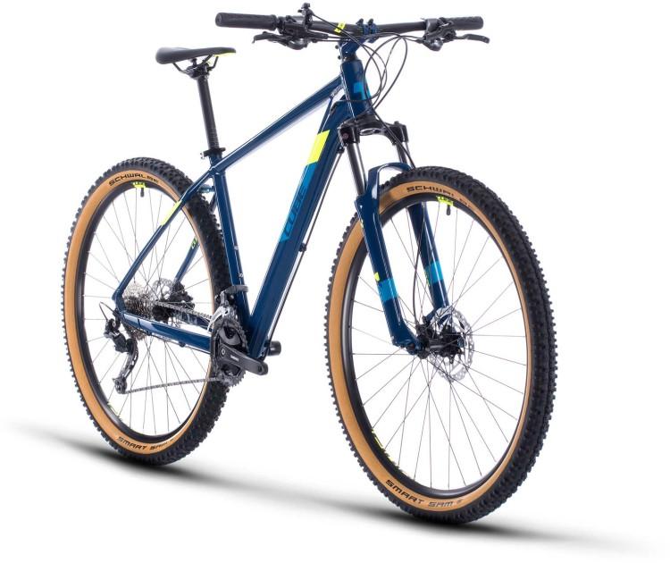 Cube Aim SL blueberry n flashyellow 2020 - Hardtail Mountainbike