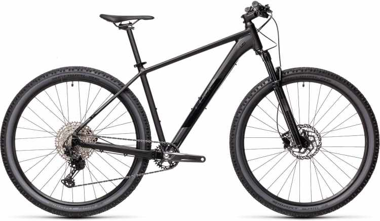 Cube Attention SL black n grey 2021 - Hardtail Mountainbike