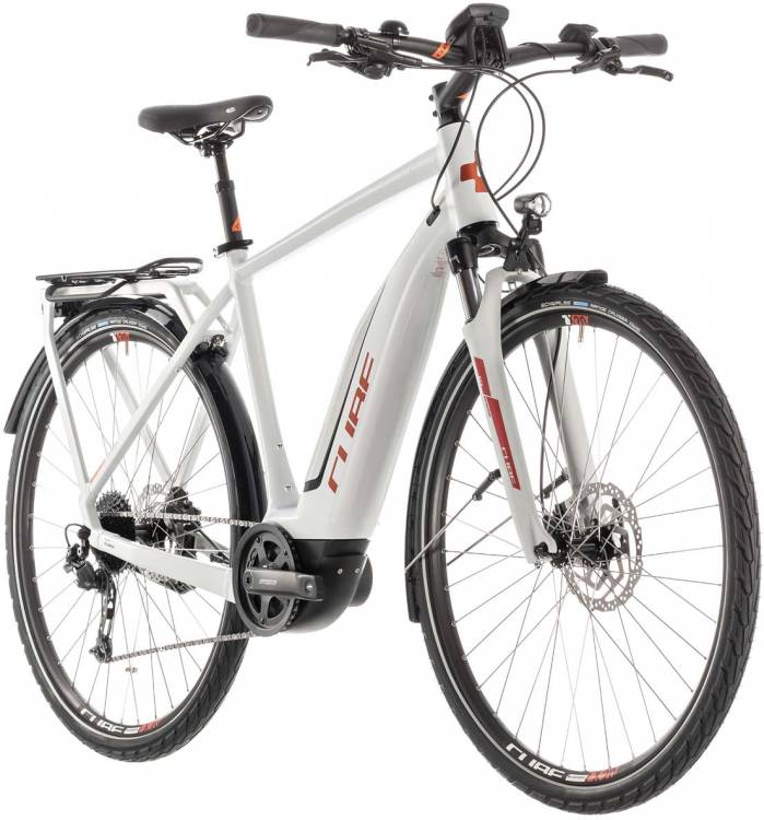 Cube Touring Hybrid 400 grey n orange - Herren 2019