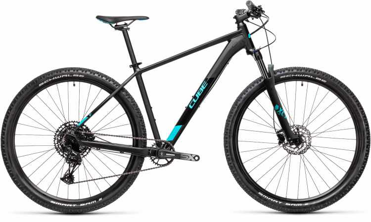 Cube Analog black n petrol Suntour 2021 - Hardtail Mountainbike