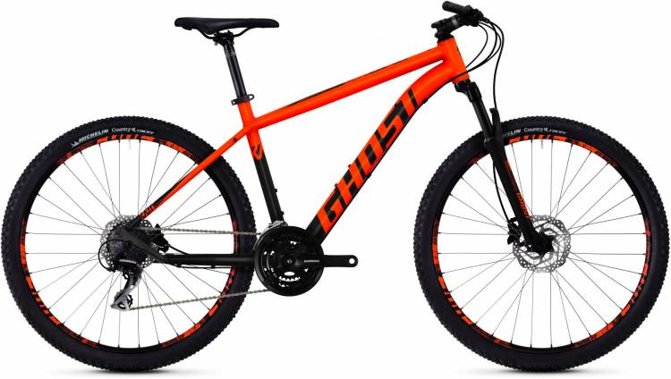 Ghost Kato 3.7 AL U 2018 - Hardtail Mountainbike