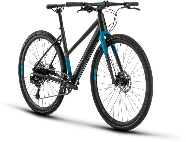 Cube SL Road Pro iridium n blue 2020 - Fitnessrad Damen