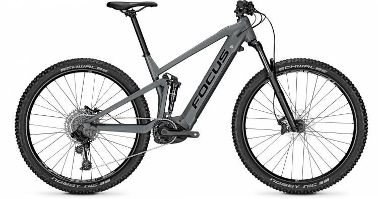 Focus Thron2 6.7 Slate Grey 2020 - E-Bike Fully Mountainbike