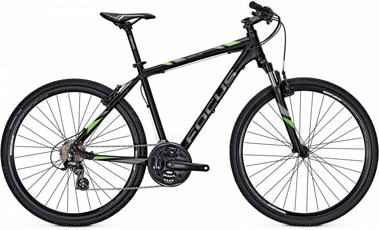 Focus Crater Lake Elite black 2017 - Herren Crossrad