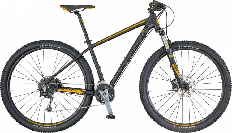Scott Aspect 730 black/yellow 2018 - Hardtail Mountainbike