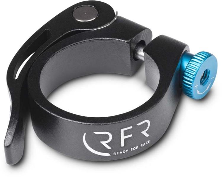 RFR Sattelklemme mit Schnellspanner 34,9 mm black n blue