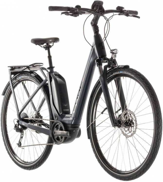 Cube Touring Hybrid 400 iridium n black - Easy Entry 2019