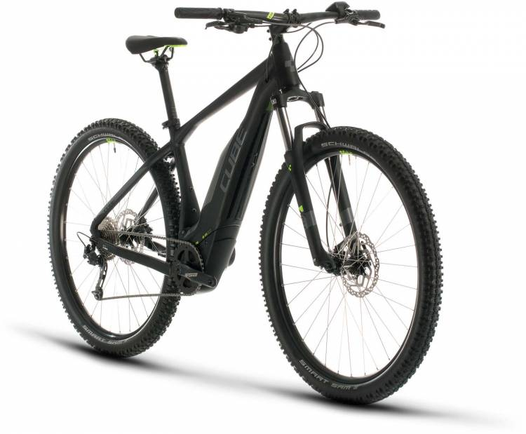 Cube Acid Hybrid ONE 400 29 black n green 2020 - E-Bike Hardtail Mountainbike