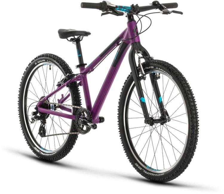Cube Acid 240 SL purple n blue 2020 - Kinderrad 24 Zoll