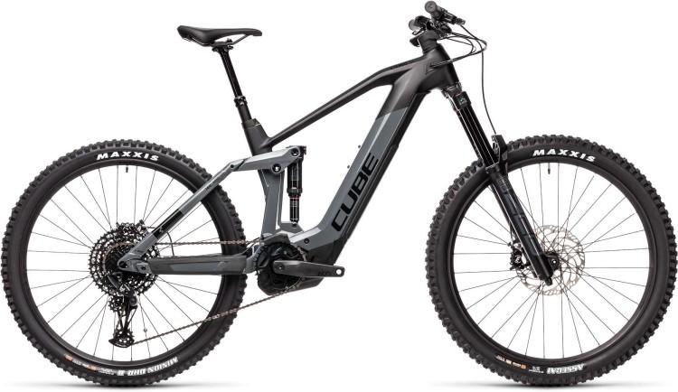 Cube Stereo Hybrid 160 HPC SL 625 27.5 grey n black 2021 - E-Bike Fully Mountainbike