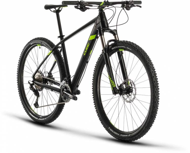 Cube Race ONE black n green 2020 - Hardtail Mountainbike