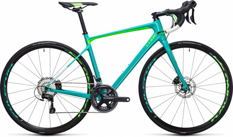 Cube Axial WLS GTC SL Disc mint n green 2017