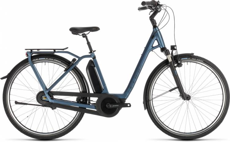 Cube Town Hybrid EXC RT 500 blue n blue - Easy Entry 2019