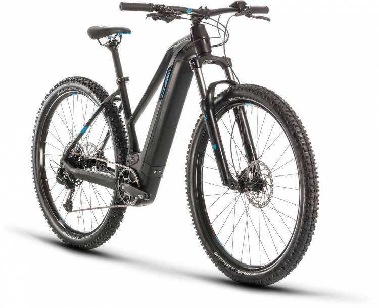 Cube Reaction Hybrid EX 500 29 black n blue 2020 - E-Bike Hardtail Mountainbike Damen