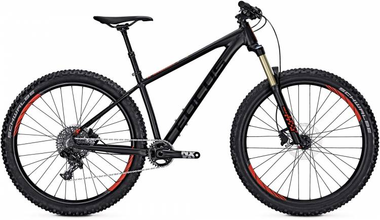 Focus Bold SL 27 magic black/matt 2017 - Hardtail Mountainbike