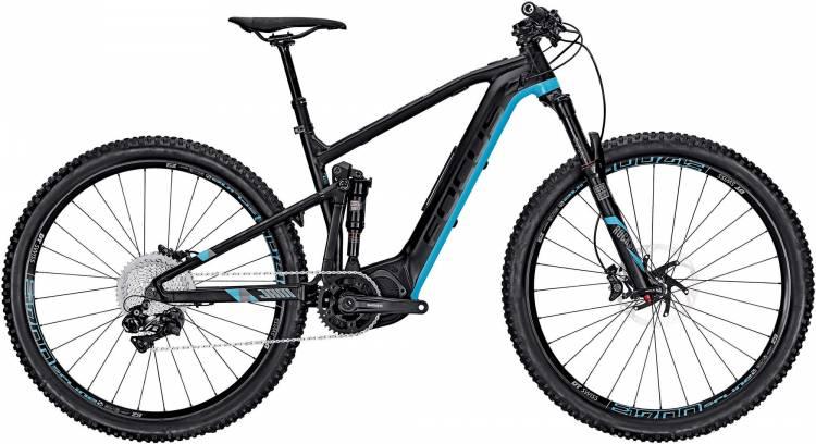 Focus Jam2 29 Pro black/blue 2017 - E-Bike Fully Mountainbike