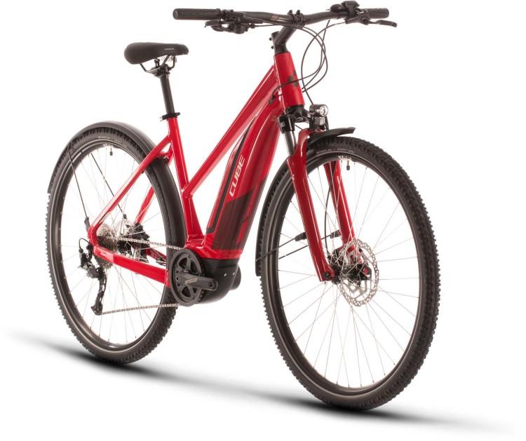 Cube Nature Hybrid ONE 500 Allroad red n red 2020 - E-Bike Crossrad Damen