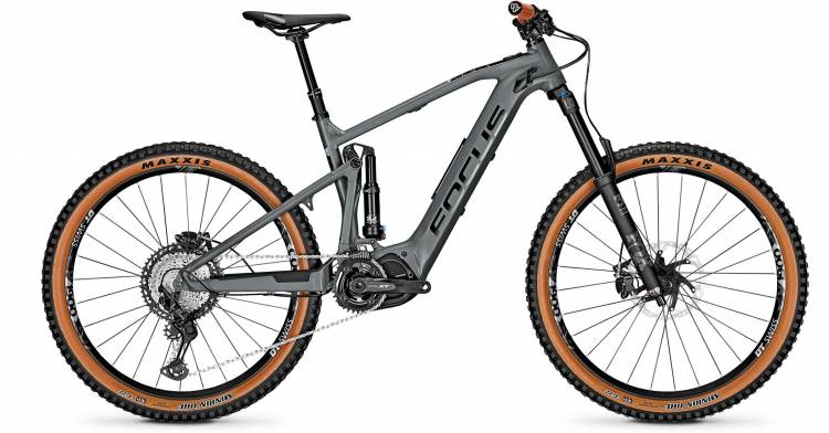 Focus Focus Sam2 6.8 Slate Grey 2020 - E-Bike Fully Mountainbike