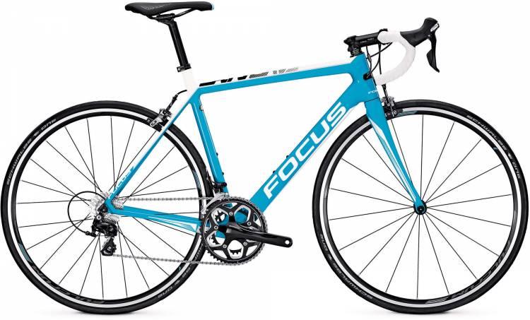 Focus Cayo 105 M blue/white 2017 - Herren Carbon Rennrad