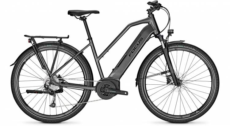 Focus Planet2 5.7 Diamond Black 2020 - E-Bike Trekkingrad Damen