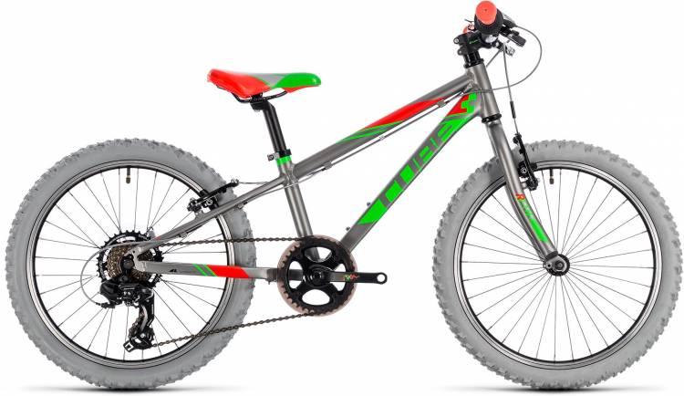 Cube Kid 200 grey n green 2018 - Kinderrad 20 Zoll