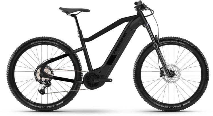 Haibike HardSeven 8 630Wh black ink matte 2021 - E-Bike Hardtail Mountainbike