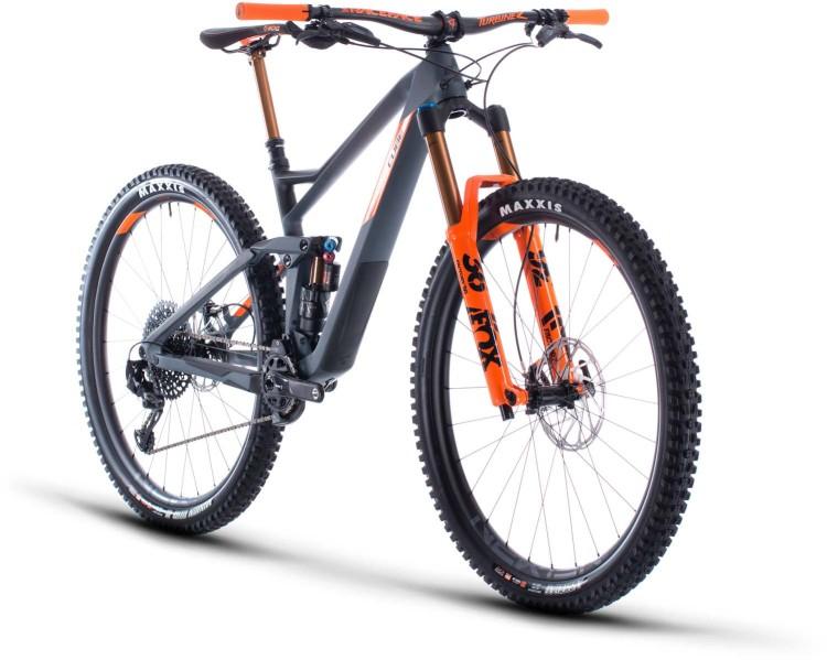 Cube Stereo 150 C:68 TM 29 grey n orange 2020 - Fully Mountainbike