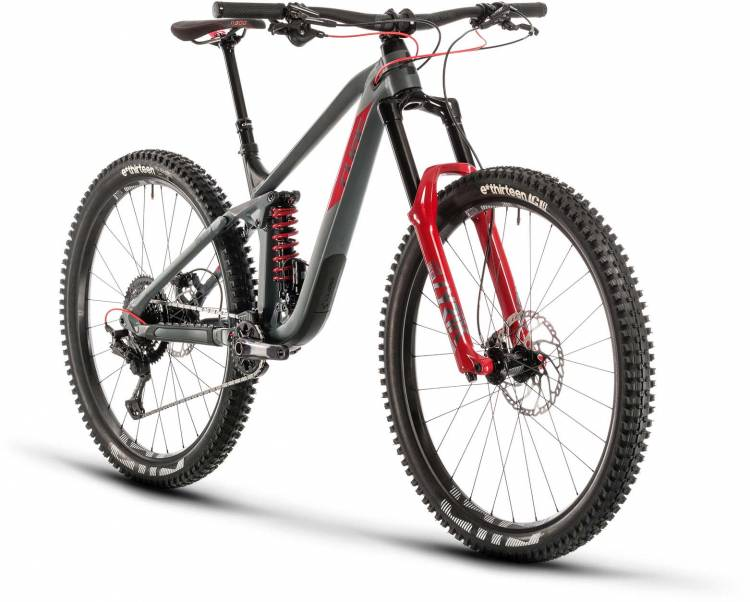 cube stereo 170 tm 29 grey n red 2020 fully mountainbike. Black Bedroom Furniture Sets. Home Design Ideas